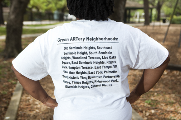 Rhonda Triplett-Coleman, executive community member for Green ARTery.