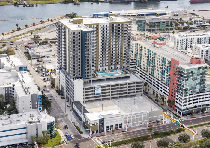 A new Publix set to open in downtown Tampa's Channel District.