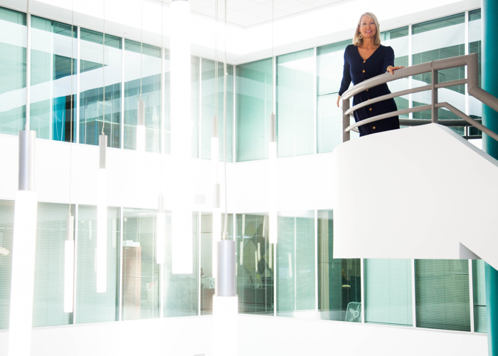 Jess Garretson, CEO of Cognis Group at her Tampa-based office.