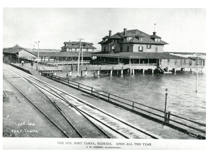 The Inn at Port Tampa in the early 1900's.