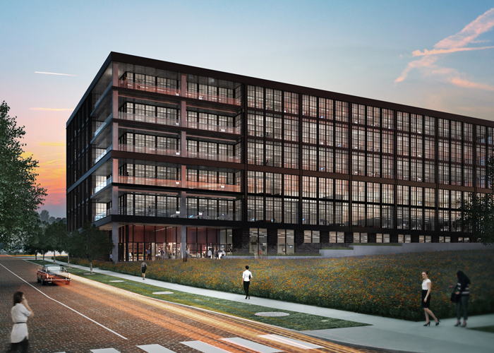 Heights Union Creative Office Center rendering