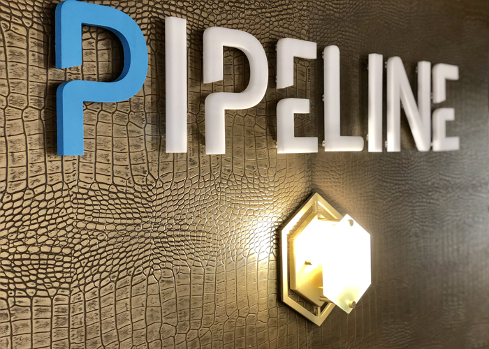 Pipeline Tampa signage