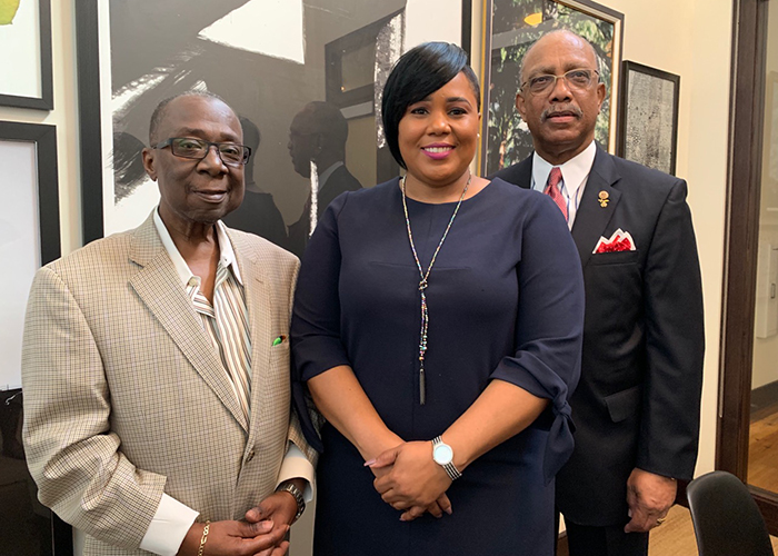 Frank Reddick, Tamara Shamburger, and Les Miller, Jr. are making history as leaders of county and city governing boards.