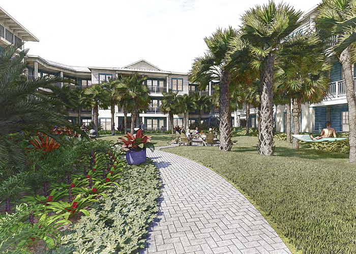 Largo's redevelopment includes new apartments near Pinellas Trail.