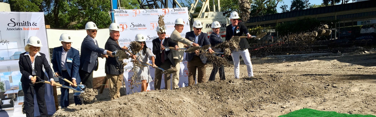 Groundbreaking at The Sanctuary at Alexandra Place condos on Bayshore Boulevard in Tampa. <span class=&apos;image-credits&apos;>Diane Egner</span>