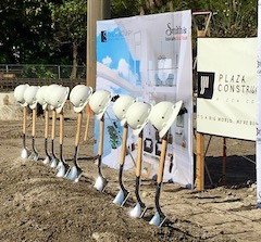 Groundbreaking at The Sanctuary at Alexandra Place.
