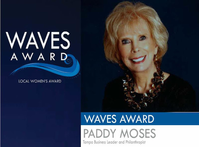 Paddy Moses wins Waves of Change award.