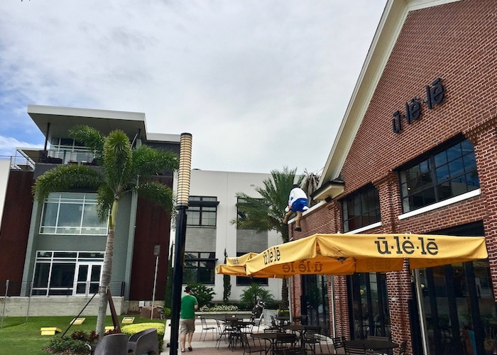 Ulele restaurant is in the heart of Tampa Heights.