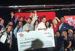 Tampa startup Immertec took the $100,000 grand prize at the Rise of the Rest tour's pitch competition.