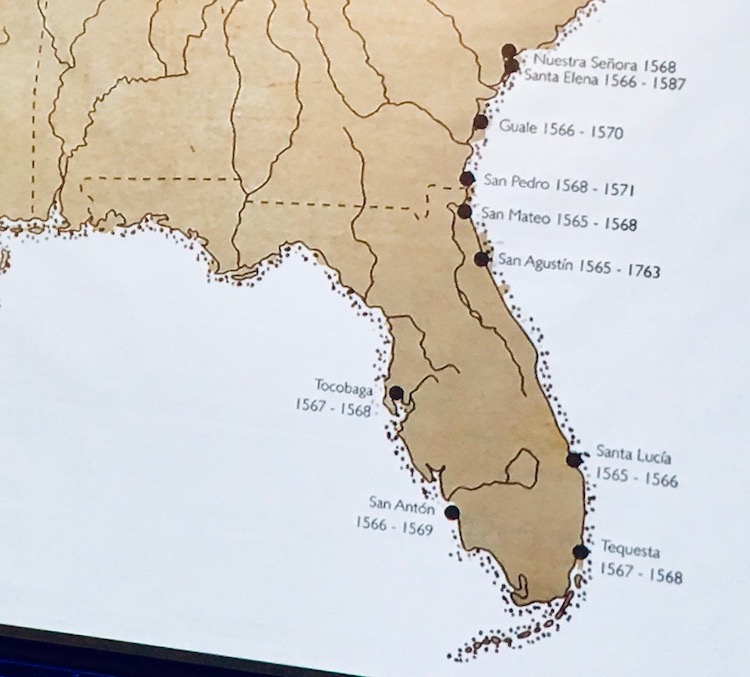 An early map of Florida in the La Florida collection.