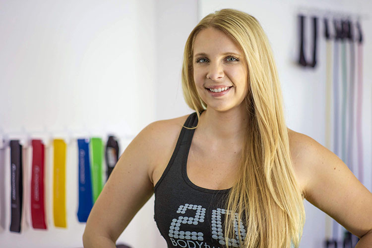 Lindsey Zielinski recently opened Body20 in South Tampa with 20-minute session workouts to target all major muscle groups in a quick session.