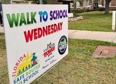 Walk to School Wednesdays in Hillsborough County