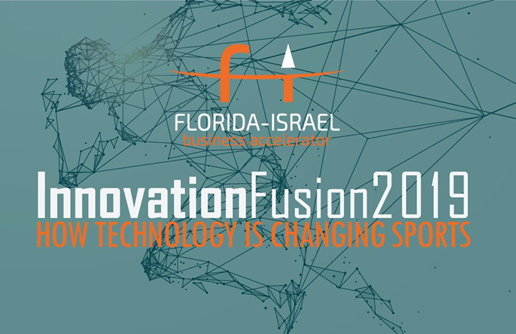 The Florida-Israel Business Accelerator's Innovation Fusion event will focus on innovation in sports.