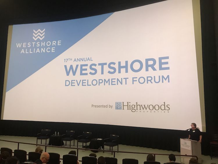 Westshore Alliance Development Forum talks about investments in the District spanning Kennedy and Westshore boulevards.