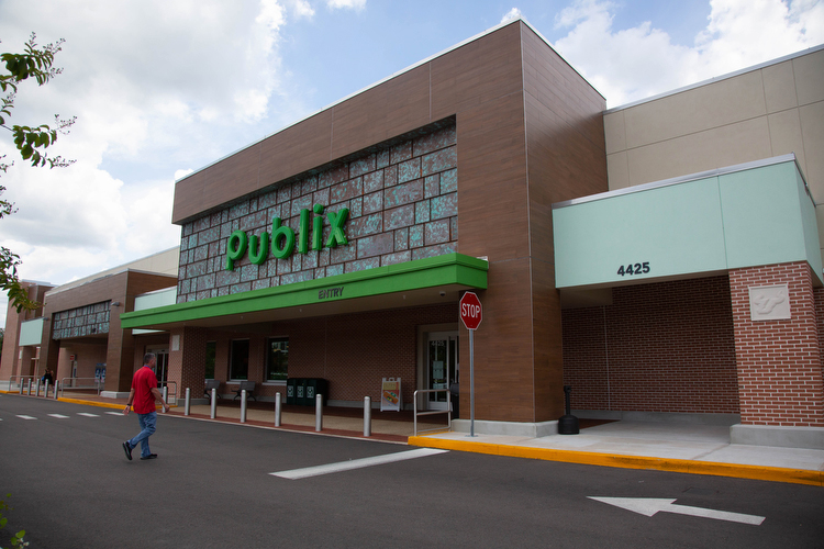 Publix at USF, part of the new student housing village adjacent to dorms.