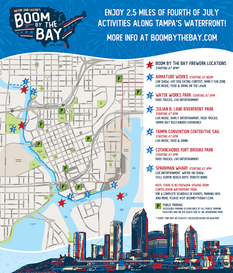 Boom by the Bay 2019 details