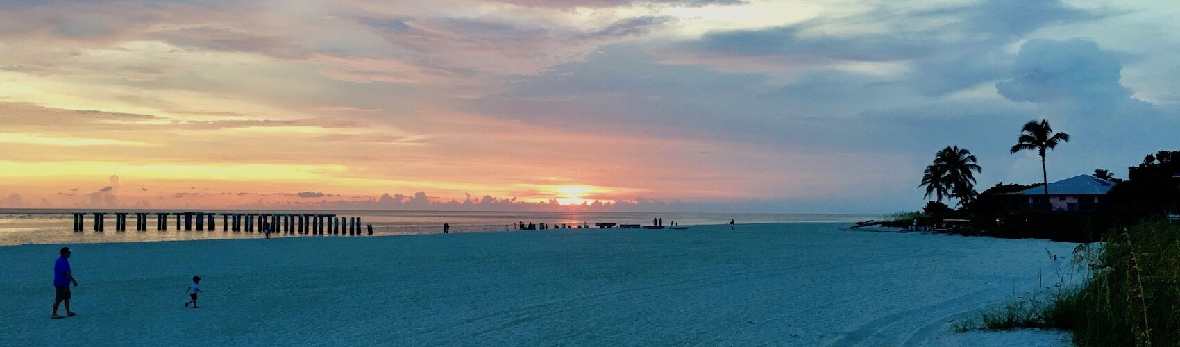 Sunset at Gasparilla Island State Park, July 2019