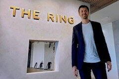 The Ring CEO Daniels Ikajevs.