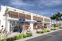 Two new shops planned in Westshore Marina District.