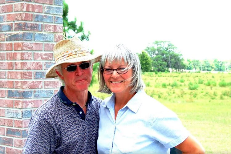 Terry and Janis McKnight, owners of Strong Tower Vineyard and Winery in Spring Hill.