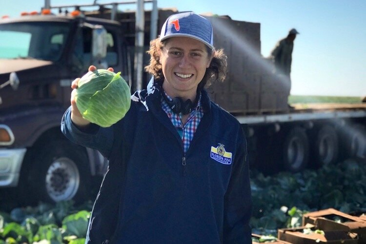 Future Farmer Arie Fry has traveled to England, South Africa, Iowa, and Washington D.C. to learn more about the economics of farming and feeding the world.