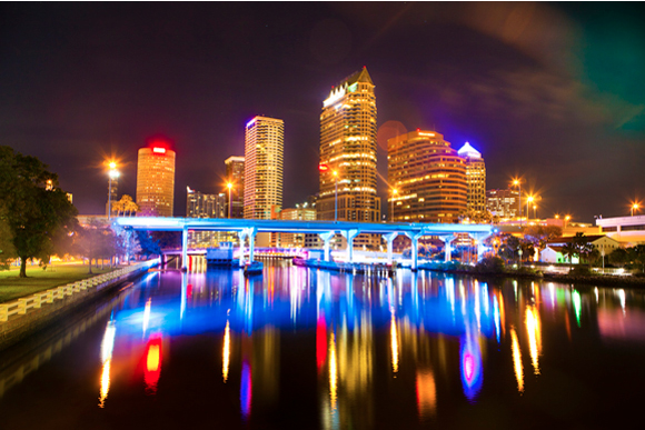 The Tampa Skyline. - Julie Branaman