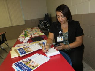 Elsa Rodr�guez, with BayCare, helps patients navigate through the healthcare system.