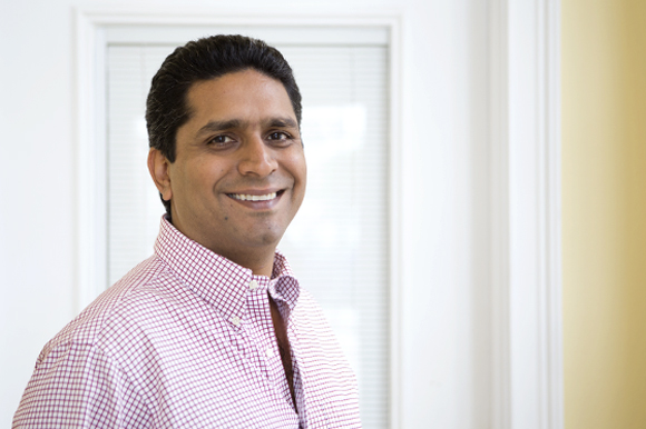 Vishal Mahtani is co-founder and CEO of Kindermint. - Julie Branaman