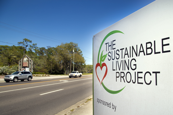 Sustainable Living Project is located on Sligh Ave. across from Lowry Park Zoo. - Julie Branaman