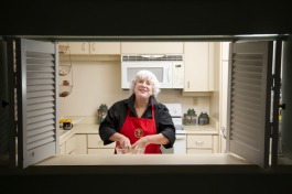 Jan Roberts is Creator of Operation Bon Appetit Initiative. - Julie Branaman