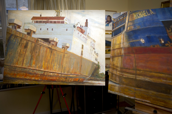 "Laura Waller's Series ""Port of Tampa""."
