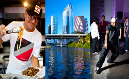 I Wonna Wok Food Truck; Tampa Water Taxi Co.; 8-Count Studios