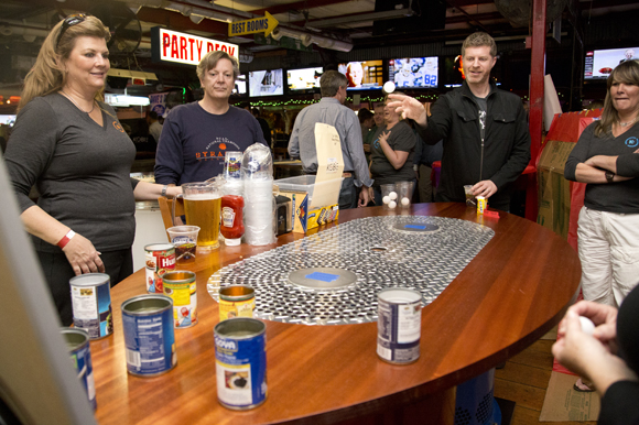 Can Do is the game to play at the Kobie Carnival at Ferg's Sports Bar and Grill.