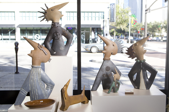 Sculptures by Beate Buegler Marston featured at the Florida Craftsman Gallery.