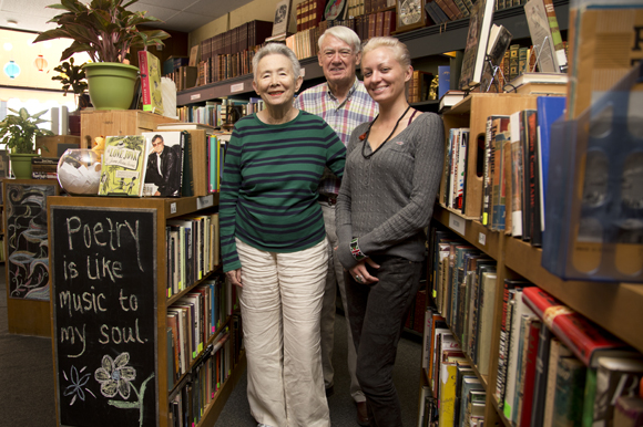 Ellen and David Brown are retiring from Old Tampa Book Company with Carrie Carnes as the new owner.