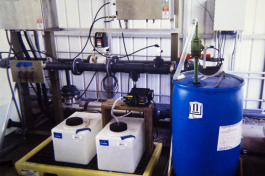 UV advanced oxidation process.