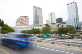 The upper lanes of the Lee Roy Selmon Expressway will be used to test driverless cars.