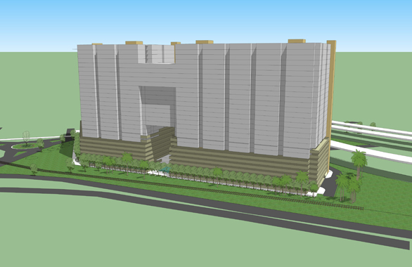Gas Worx is the proposed mixed-use development located between Channelside Drive and Nuccio Parkway.
