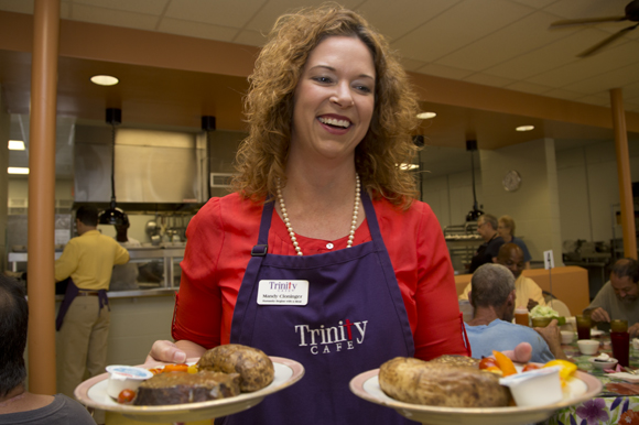 Mandy Cloninger is executive director at Trinity Cafe.