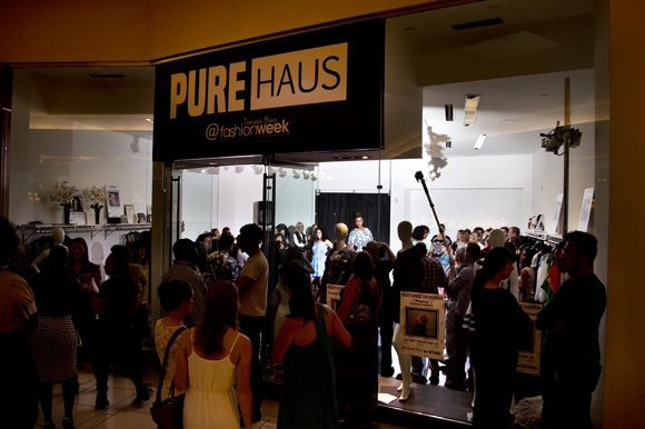 Tampa Bay Fashion Week 2015 Pure Haus Trunk Show.