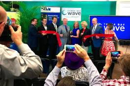Tampa Bay WaVE grand opening.