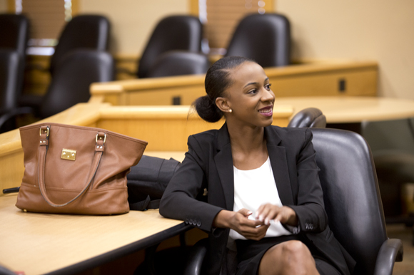 Third year Stetson Law student Darnesha Carter discusses her involvement with Moot Court.