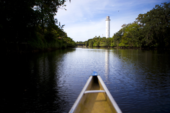 Canoe rentals are available along the Hillsborough River.