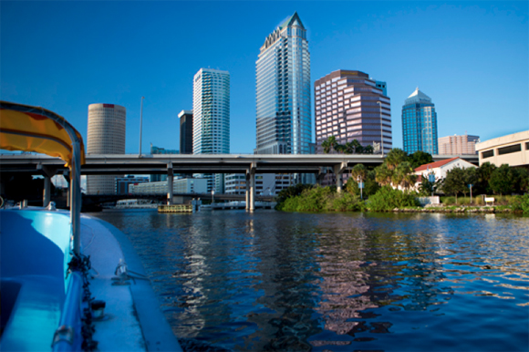 Tampa Water Taxi.