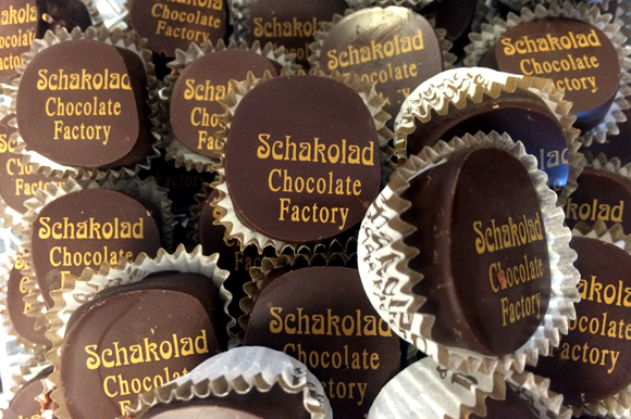 Jamaican Rum Ganache from Schakolad Chocolate Factory.