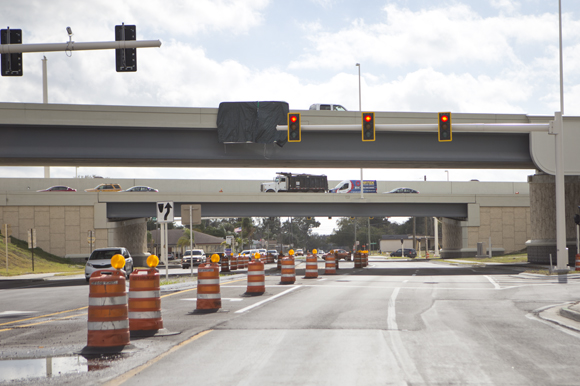 I-275 at Lois Ave. construction.