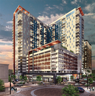 Construction Begins On New Apartment Tower In Downtown Tampa