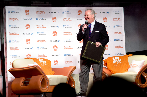 Mayor Bob Buckhorn kicks off Tampa Bay Startup Week.