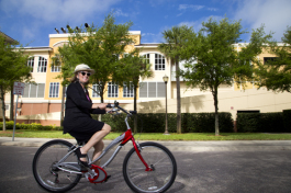 Christine Acosta is owner of Tampa Bike Valet.