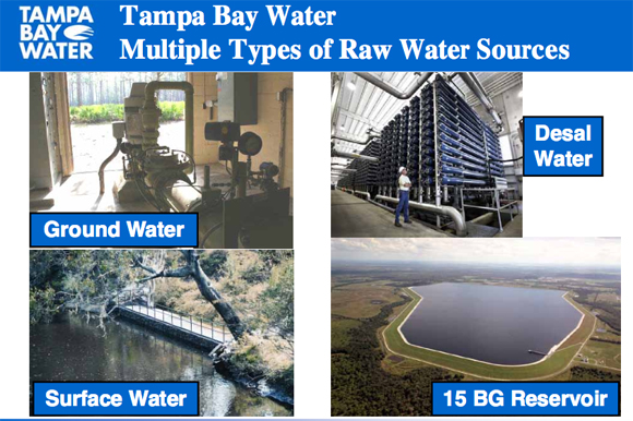 Tampa Bay Water Sources